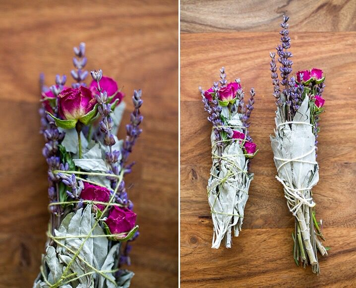 Floral Sage Smudge Sticks Supplies White Sage Cedar Lavender Roses Or Any Other Herb Or Flower That Dries Well Cott Smudge Sticks Herbs White Sage Smudge