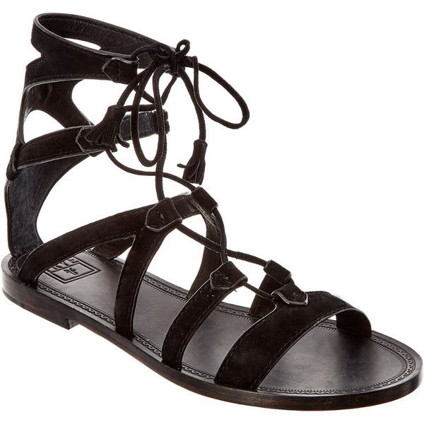 9ca22279096 Frye Women s Ruth Suede Gladiator Sandal (17.010 HUF) found on Polyvore  featuring women s fashion