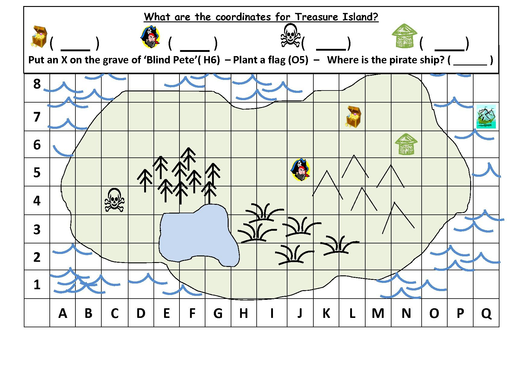 22+ Special map grid worksheets Useful