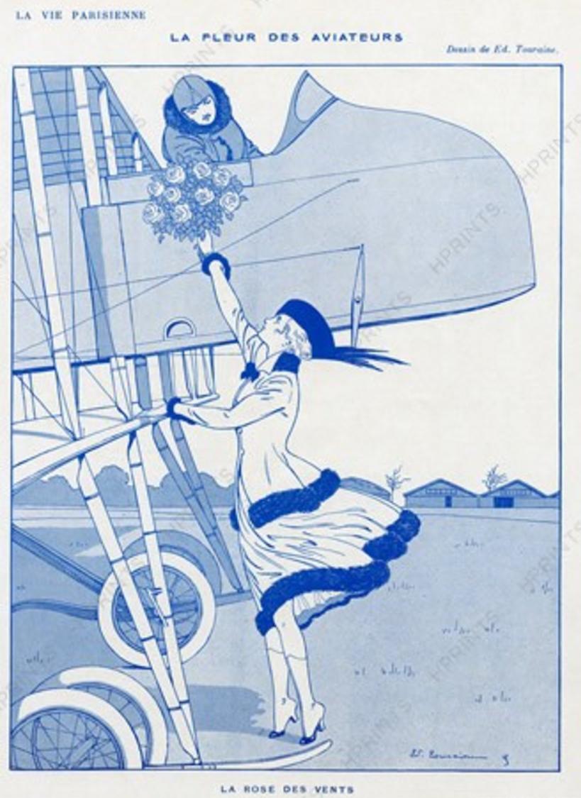 La Vie Parisienne 1916 ~ Edouard Touraine