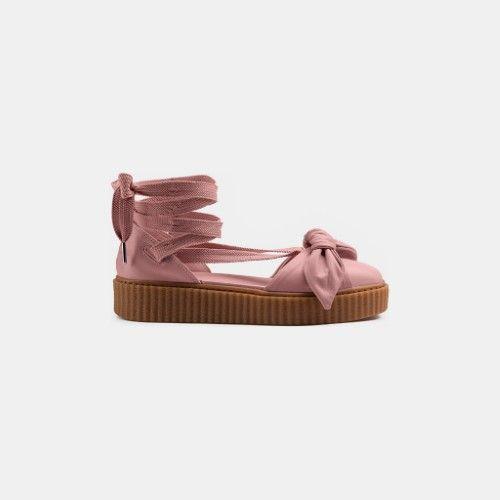 Fenty Puma by Rihanna Bow Creeper Sandal, Women's, Size: 8.5, Silver ...