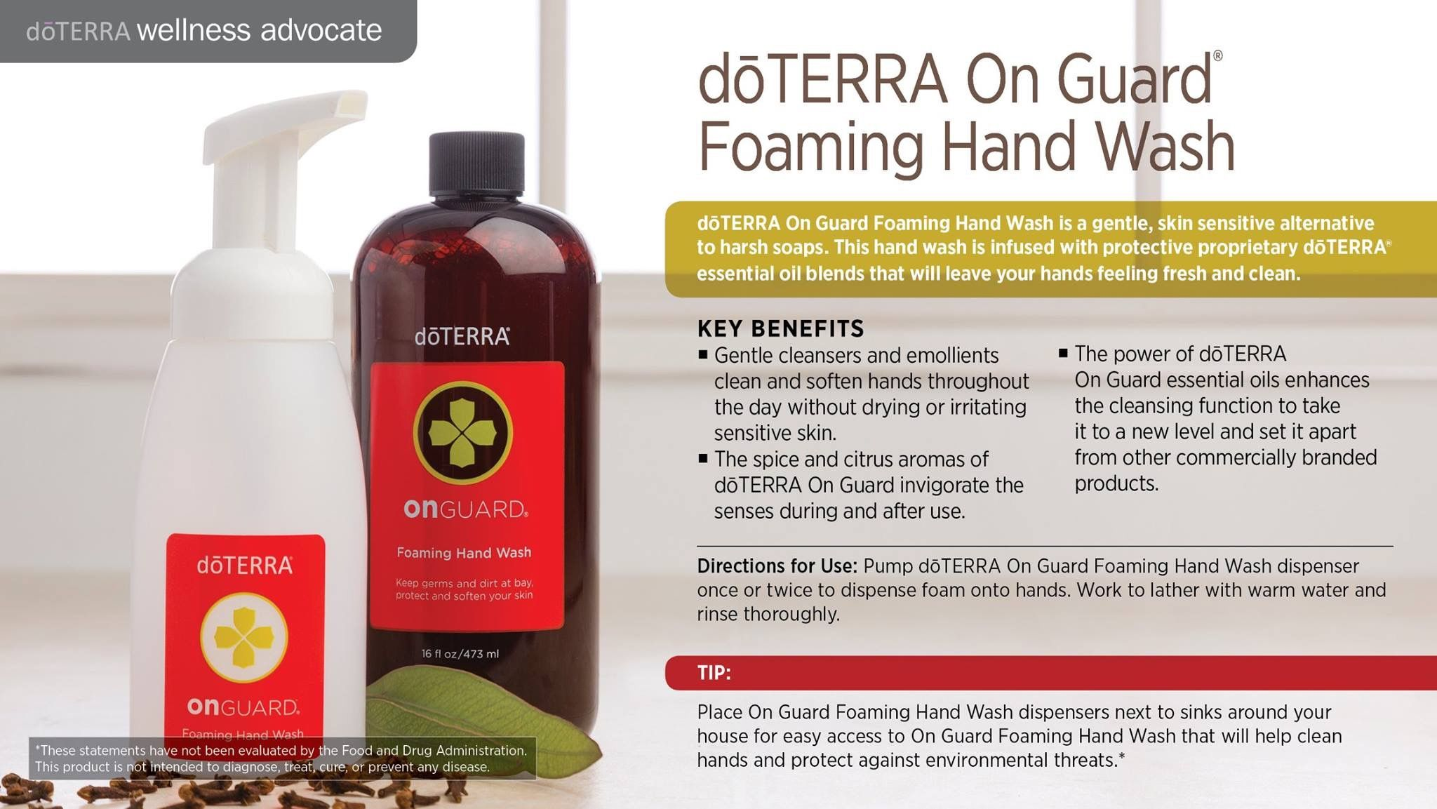 Pin By Whitney Mabry On Doterra Foaming Hand Wash Foaming Hand