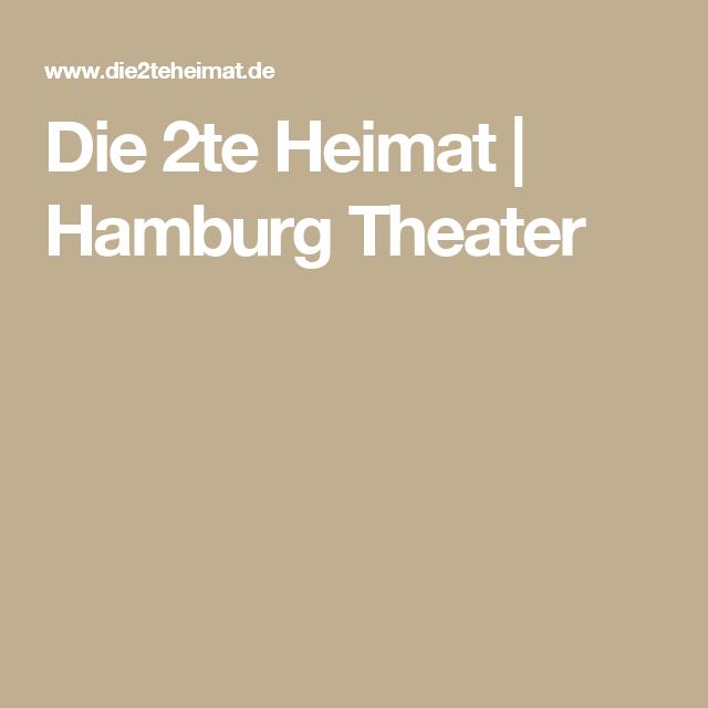 Die 2te Heimat Hamburg Theater Geheimtipp Hamburg Hamburg Heimat Hamburg