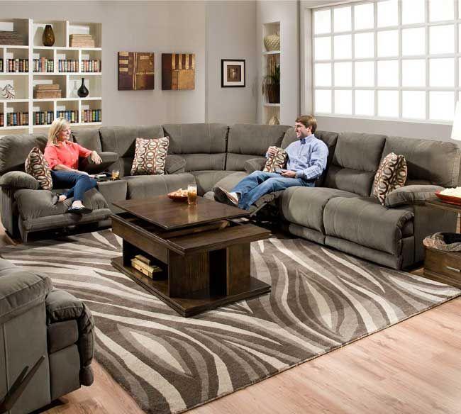 catnapper riley 122 sectional sofa dream home ideas pinterest rh pinterest com