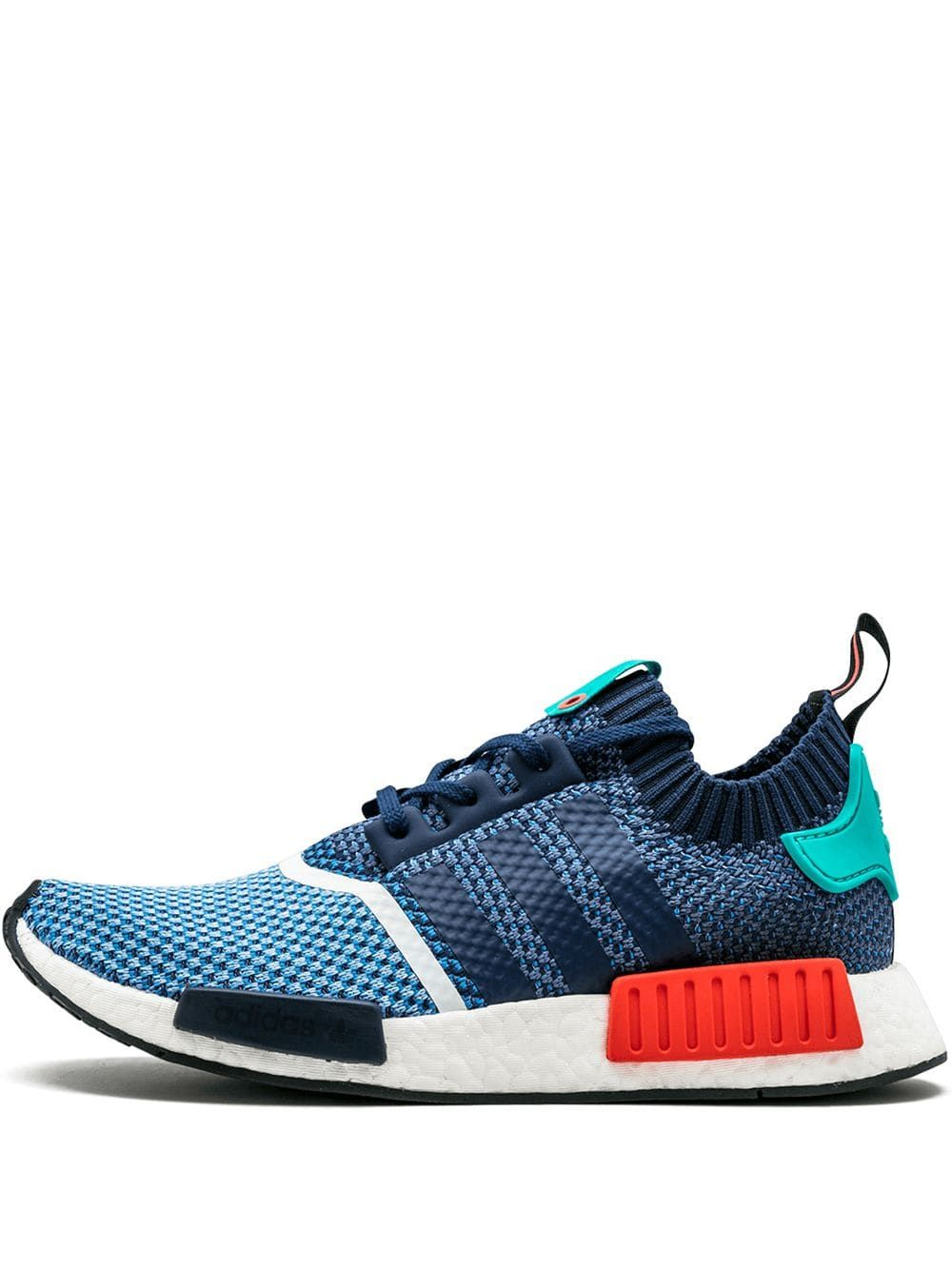 Stadium Goods blue Adidas NMD R1 PK Packers sneakers | Blue