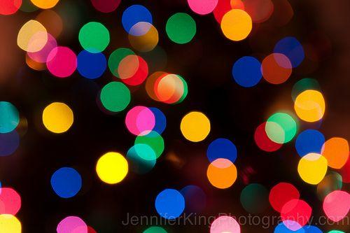 #Bokeh #Christmastree #photography #color #lights