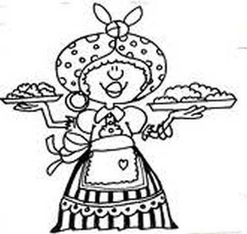 Dibujo Para Colorear De Empanadas Imagui Actividades Escolares Actividades Para Primaria Actividades De Aprendizaje Preescolares