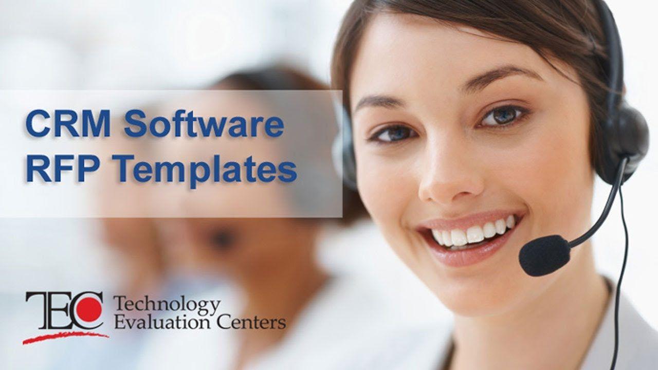 Customer Relationship Management CRM RFP Template Customer