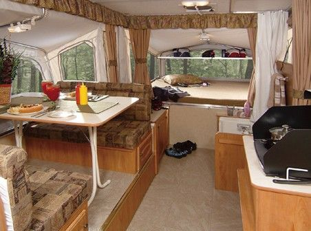 Popup Camper Looks Just Like Ours With The Slideout Dinette