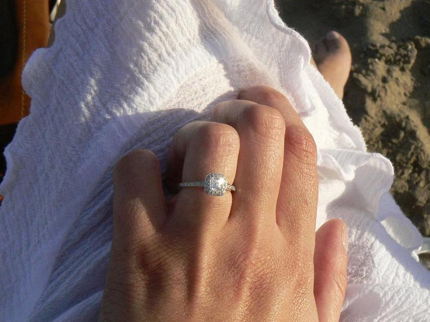 Pin on Diamond Rings on Hands