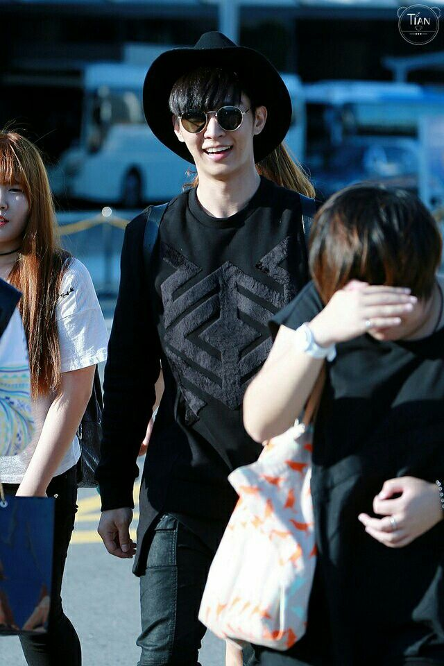 Aaron S Arrival In Incheon International Airport For The 10th