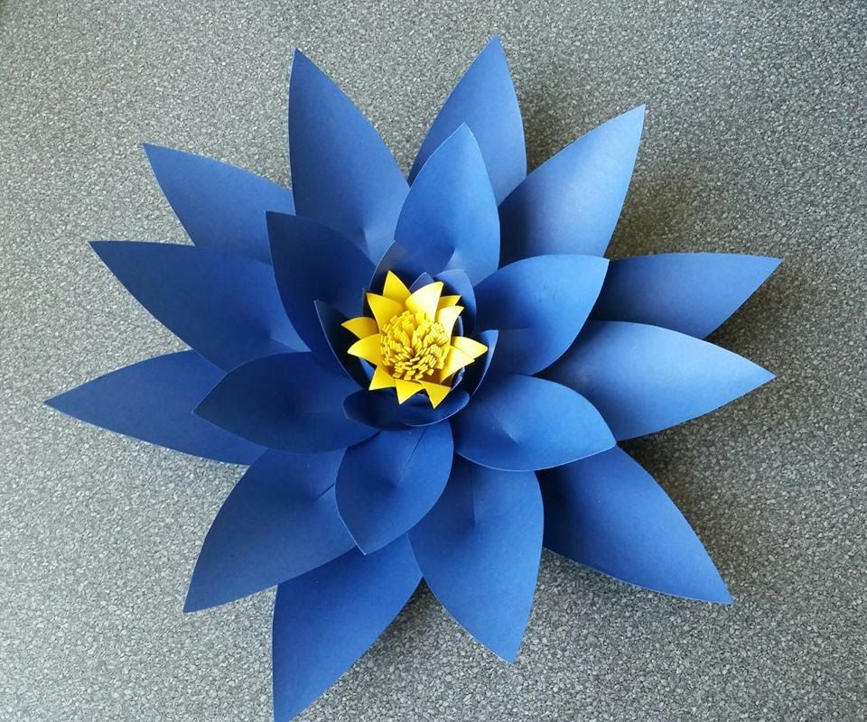 How To Make Alicia Giant Paper Flower Free Templates Available For