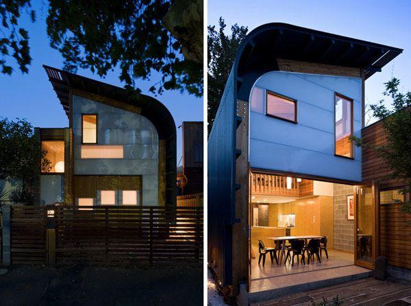 Diseño de Casa Compacta y Ecológica por Tandem Design Studio ...