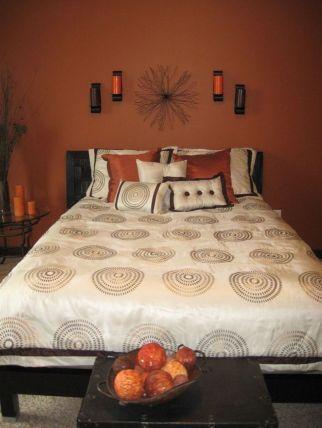 modern orange bedroom design ideas | 30+ Stunning Orange Bedroom Decorating Ideas For Modern ...
