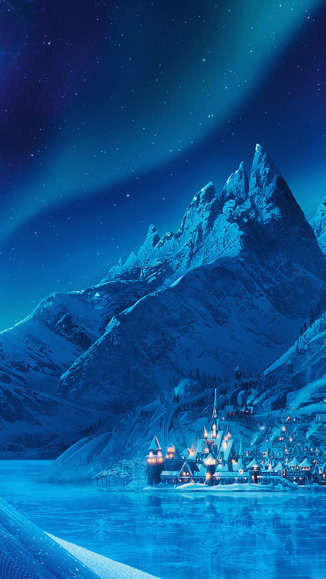 Tap image for more iPhone Disney wallpapers! Elsa Frozen