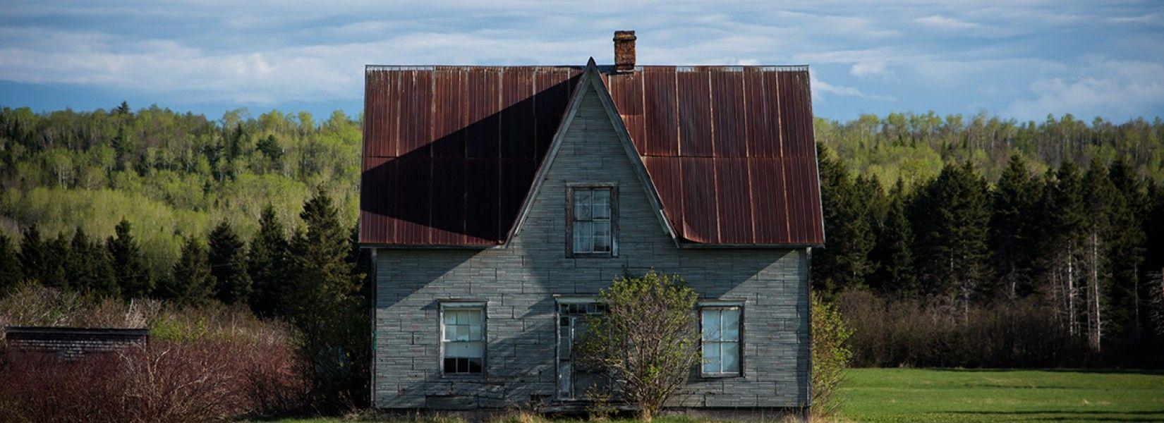 Abandoned houses in Gaspesie