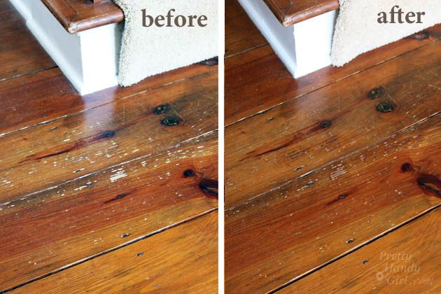 How To Refinish Wood Floors Without Sanding With Images