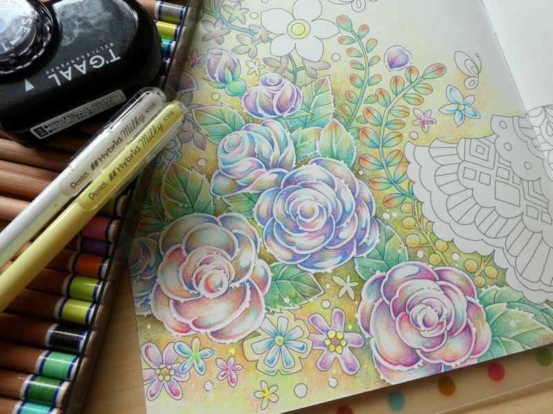 大人の塗り絵 おしゃれまとめの人気アイデア Pinterest Sharlene Lam 2020 塗り絵 色鉛筆の収納 ぬり絵