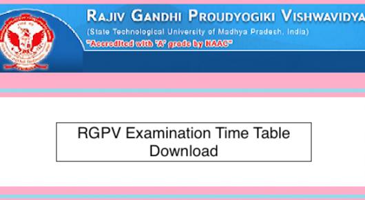 Rgpv Diploma Time Table 2018 19 For 1st 3rd 5th 7th Sem Nov Dec