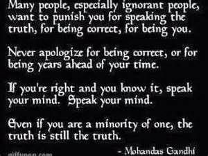 Mahatma Gandhi Quote Anti Racism
