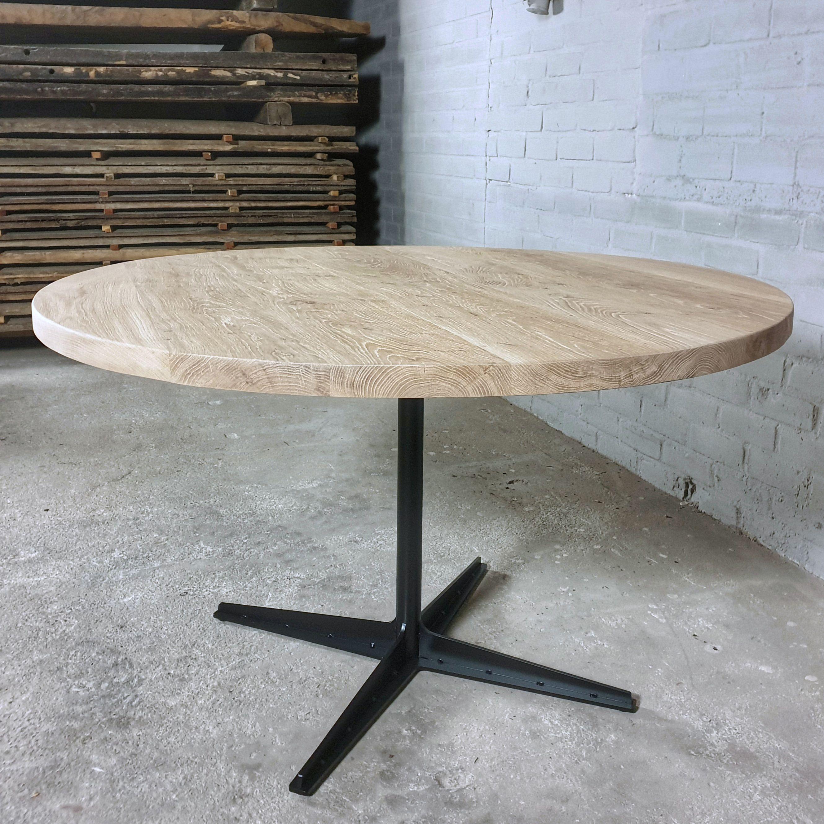Runder Industrie Design Tisch in 2020 | Design tisch
