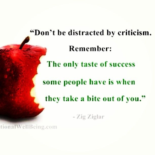Don't let the HaterS get On your Way!