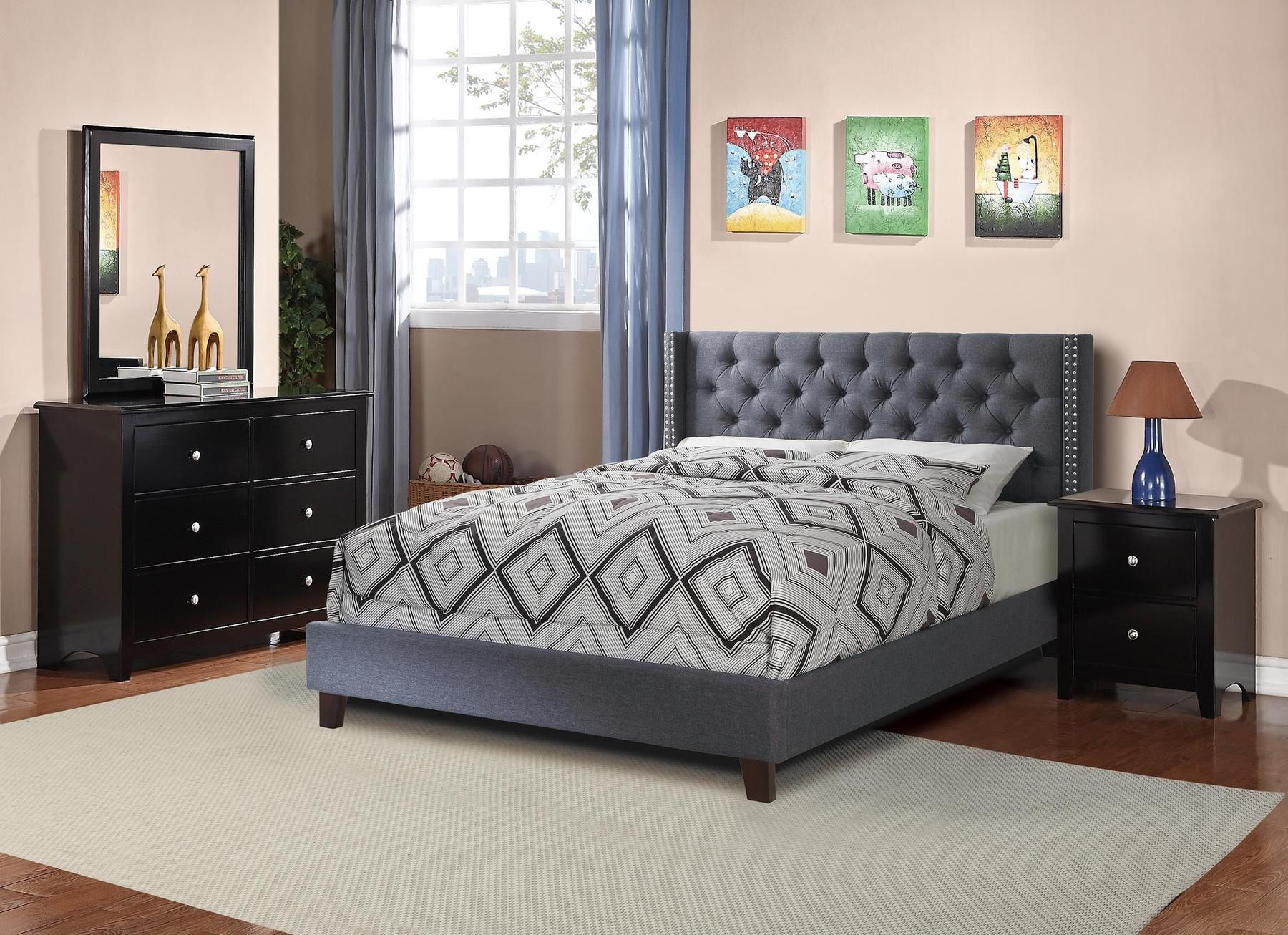 P9371 Full Size Bed In 2020 Queen Bedding Sets Bedroom
