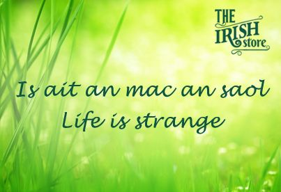 Famous Irish Quotes About Life Classy 12 Famous Gaelic Irish Phrases & Translations  Life Is Strange