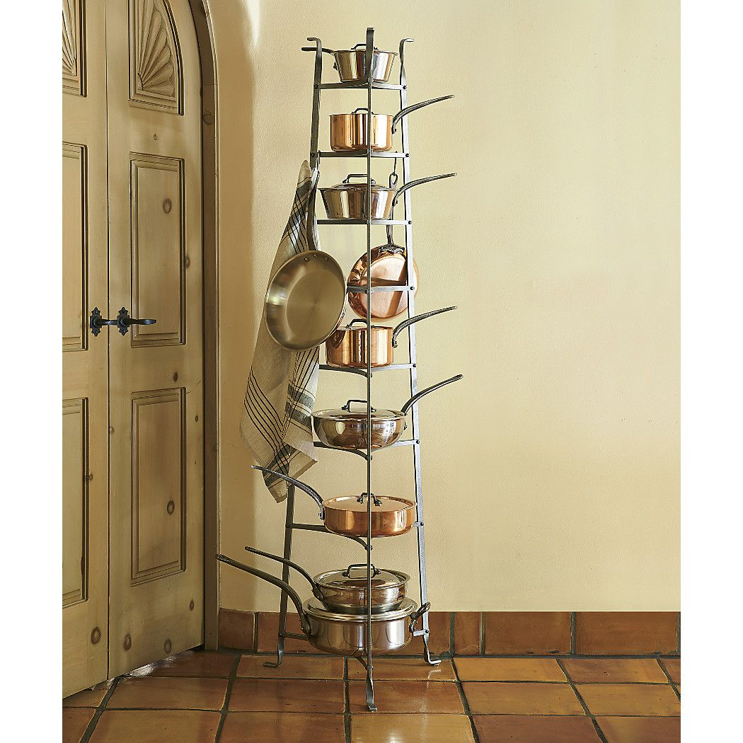 Enclume Standing Pot Rack In Racks