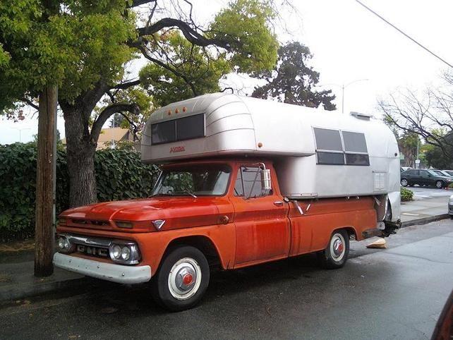 Vintage GMC Truck Camper 67 72chevytrucks Vboard