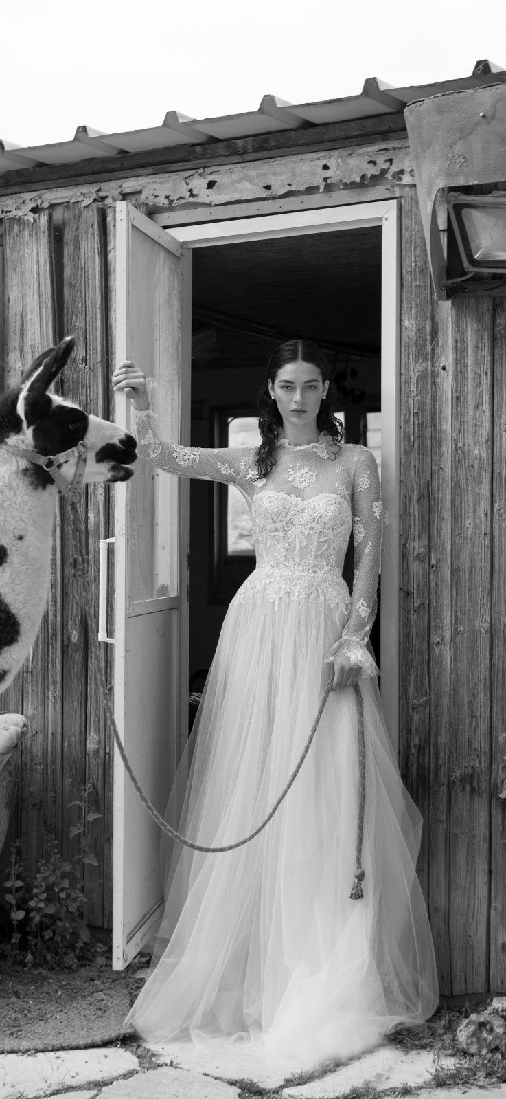 Special Bridal Editorial By Livné White 2019 Bridal Collection, 'Eden'