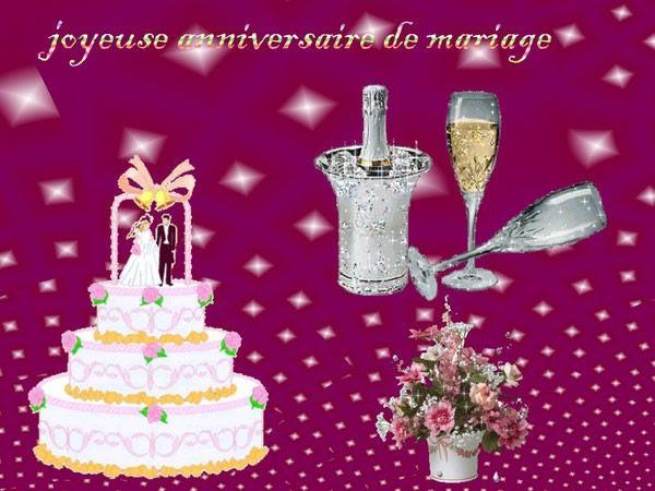 Joyeuse anniversaire de mariage anniversairedemariage