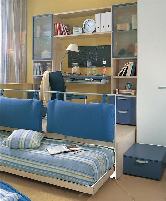 Great Idea...lots Of Storage, Trundle Bed Pushes Back