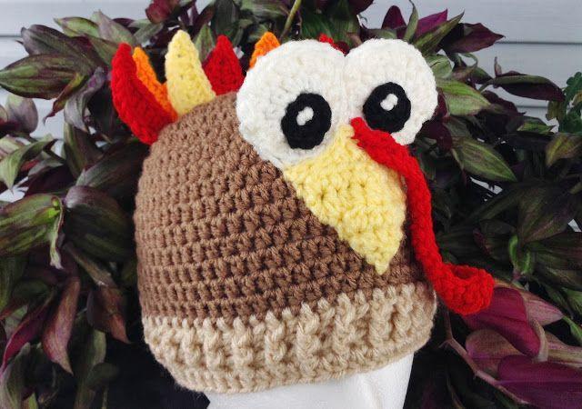 10 Free Crochet Turkey Hat Patterns Turkey Hat Free Crochet And