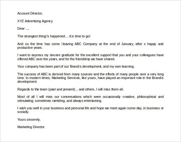 download retirement announcement letter to clients Letter example