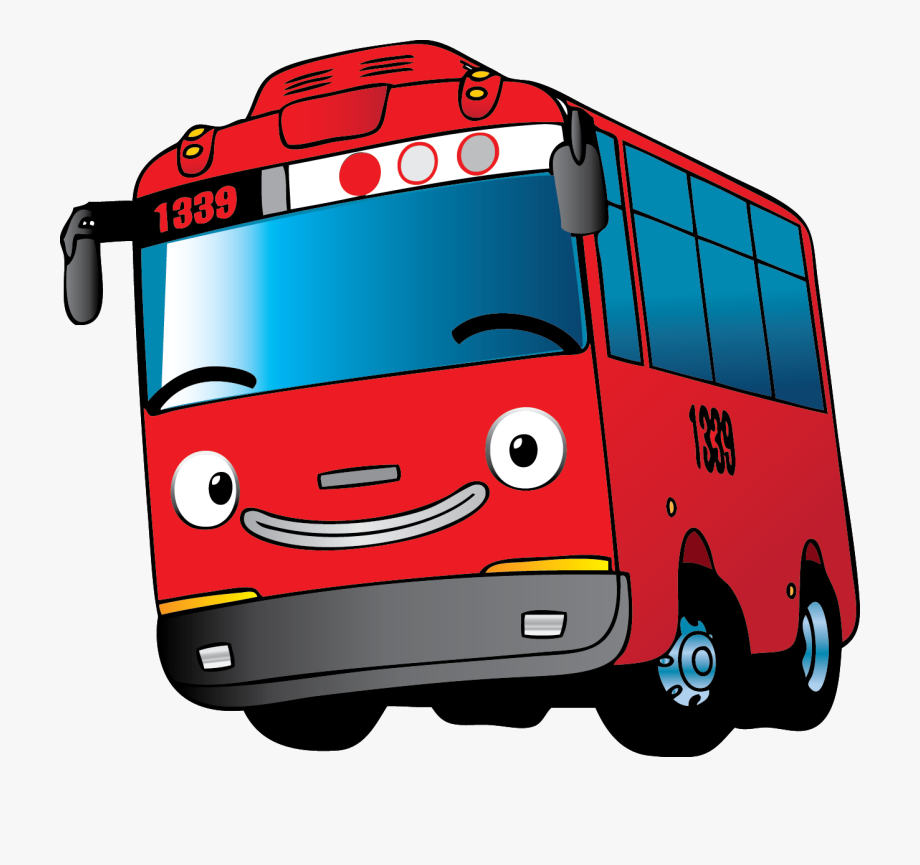 Tayo Bus Vehicle Mode Motor Transport Gambar Mobil Tayo