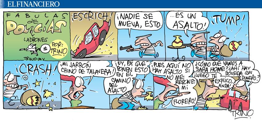Fábulas de Policías y Ladrones. 17/08/2015