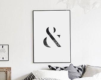 005 hello digital download print wall art printable for Laminas cuadros estilo nordico