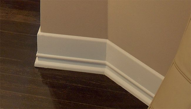 Base board styles art deco molding art deco style trim for Contemporary trim moulding
