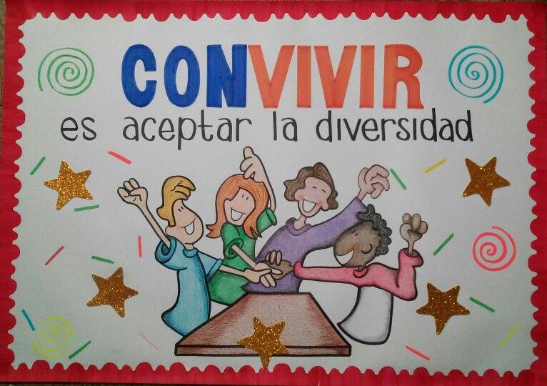 Cartelera Convivencia Crayolas Imagenes De Convivencia Escolar Carteleras Escolares Imagenes De Convivencia