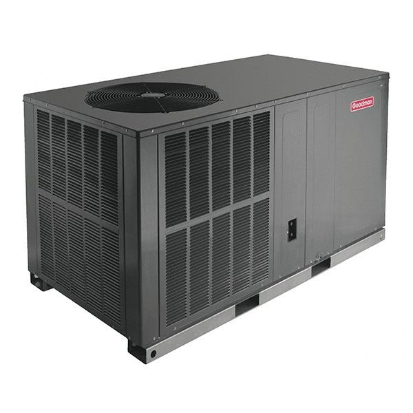 Goodman 2 Ton 13 Seer Dedicated Horizontal Packaged Air Conditioner Heat Pump Air Conditioner Central Air Conditioners Heat Pump System