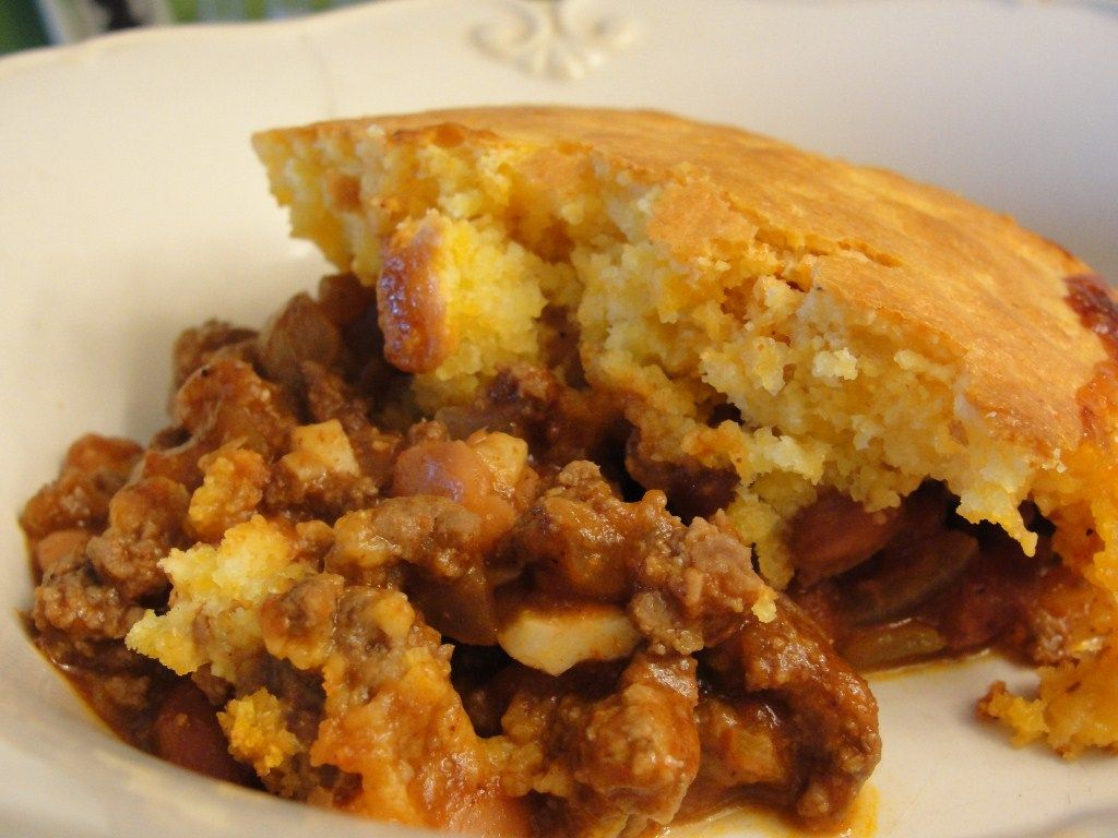 Chili Cornbread Bake | CHILI CORNBREAD CASSEROLE (18) 194731 | BigOven