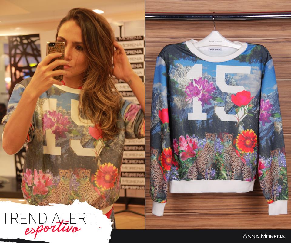 Anna Morena | Fall Winter Lookbook 2014 | Lookbook Outono Inverno 2014 | moletom floral; estampa digital; lalá noleto; trend.