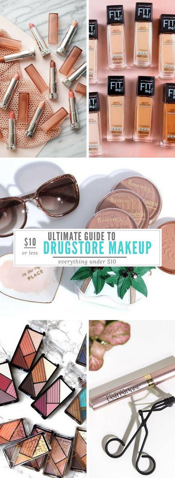 Best Drugstore Makeup Under 10 Ultimate Makeup Guide