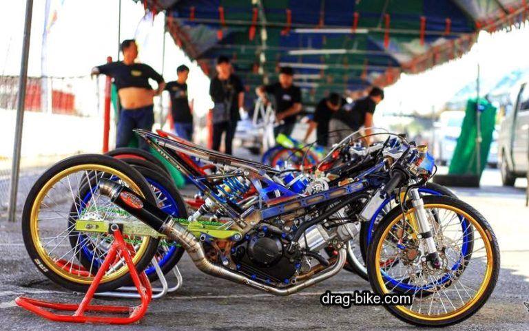 Drag Motor Sonic Thailand Honda Sonic Thailand