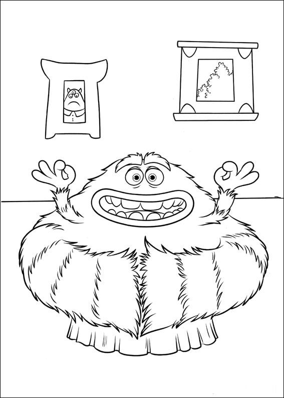 Monsters Inc. - University Coloring Pages 25 | omalovanky pro děti ...