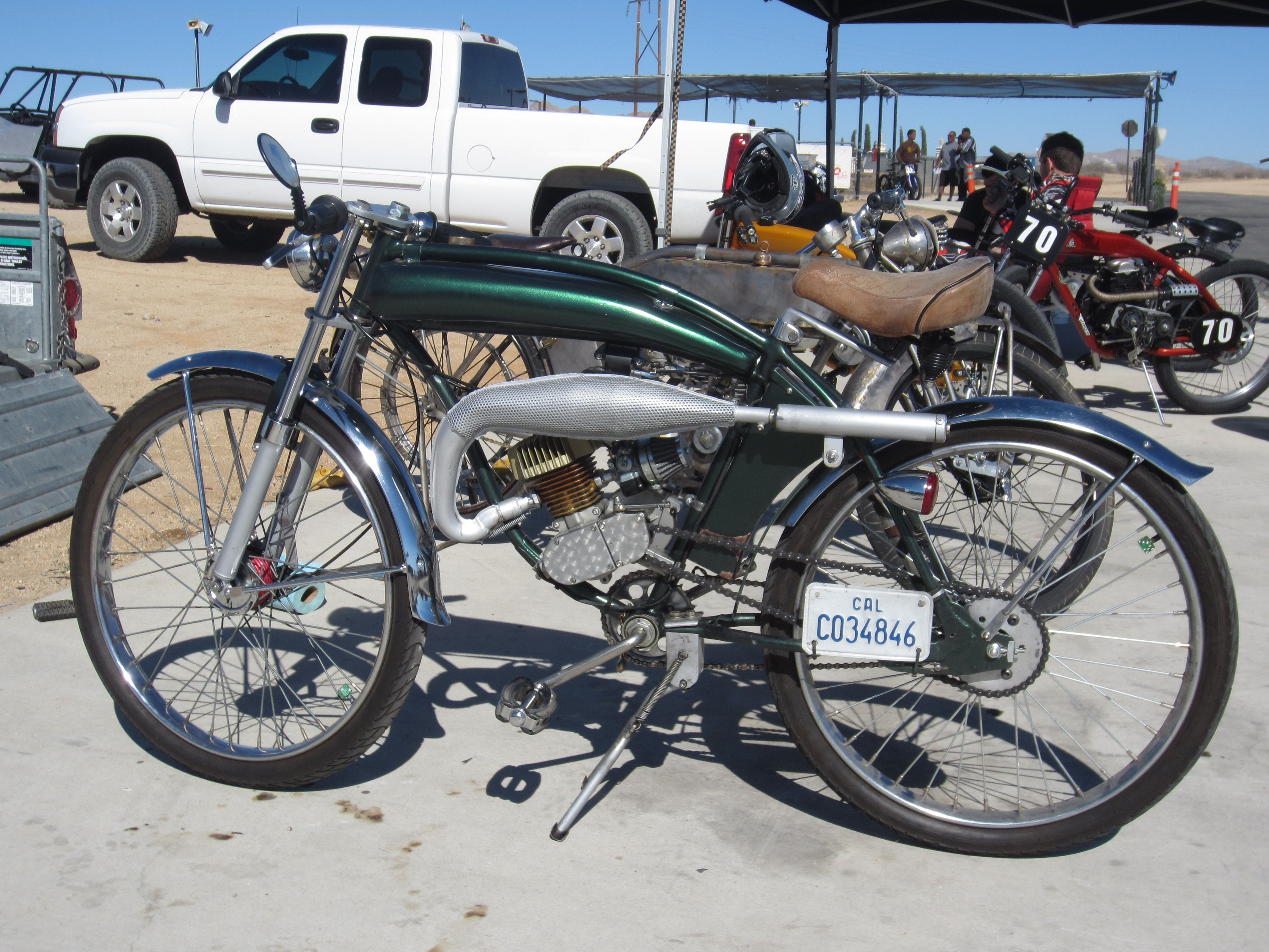 Sat Oct 20th 2012 Grange Motor Circuit Socal Motor Bicycle