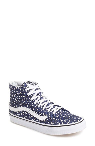 d54b68bef0 Free shipping and returns on Vans  Herringbone Leopard - Sk8-Hi Slim   Sneaker