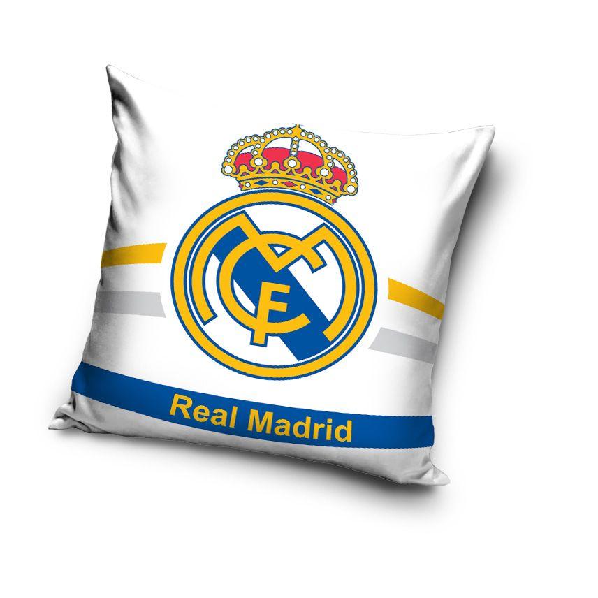 Real Madrid biele vankúše pre deti