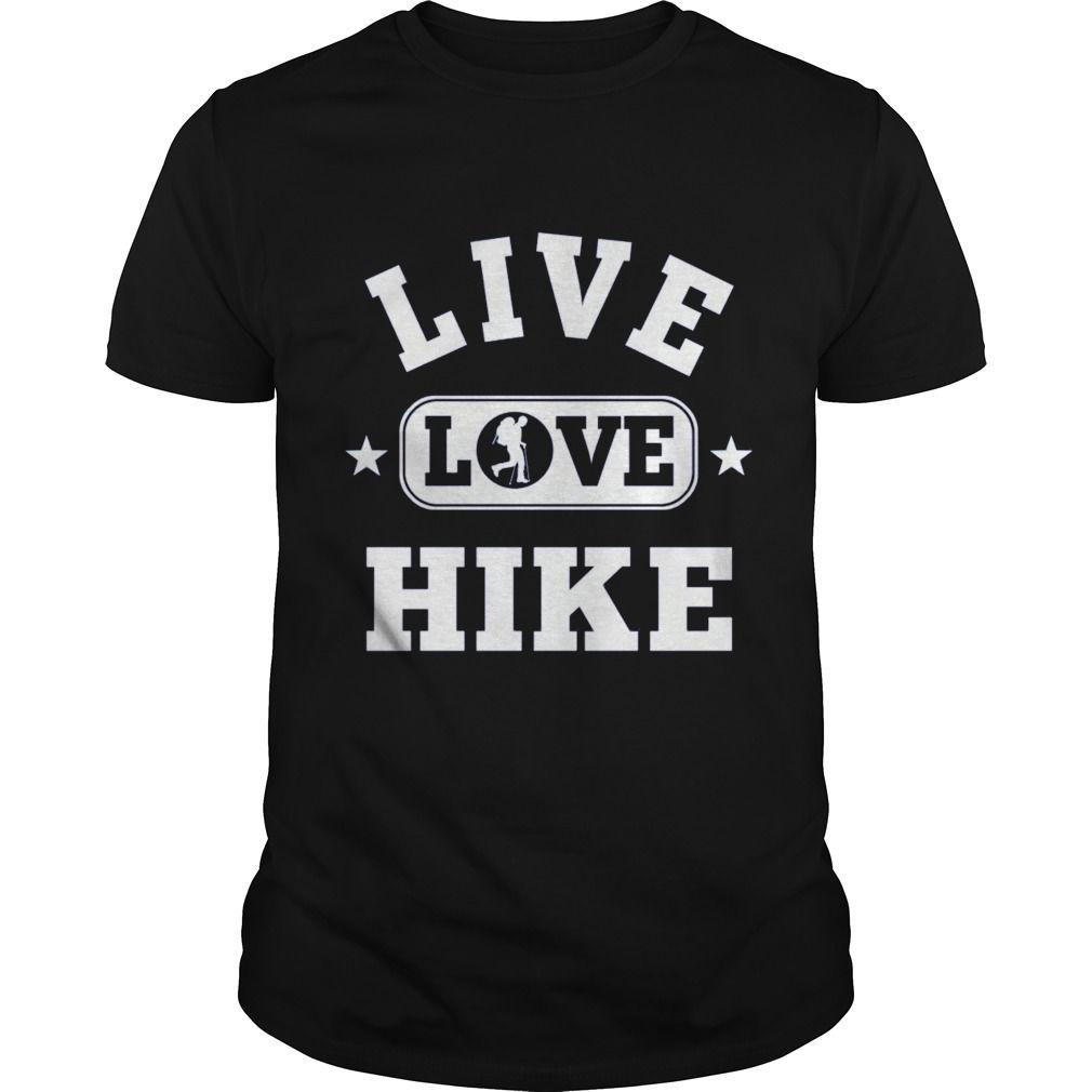 Live Love Hike Mens T-Shirt